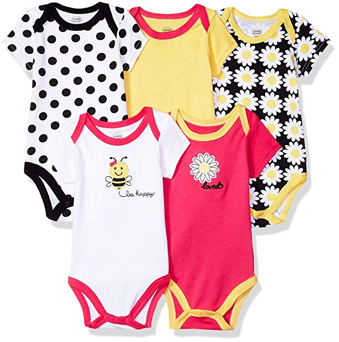 Luvable Friends Baby Cotton Bodysuits